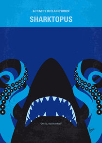 No485 My Sharktopus minimal movie poster von chungkong