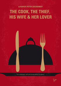 No487 My The Cook the Thief His Wife and Her Lover minimal movie poster by chungkong