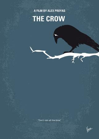 No488-my-the-crow-minimal-movie-poster