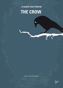 No488 My The Crow minimal movie poster von chungkong