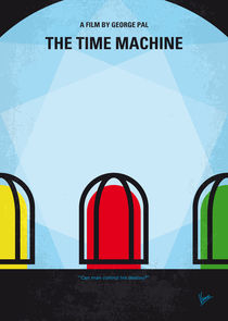 No489 My The Time Machine minimal movie poster von chungkong