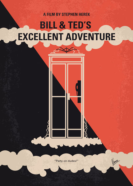 No490-my-bill-and-teds-excellent-adventure-minimal-movie-poster