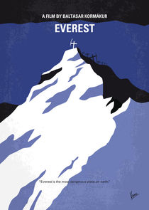 No492 My Everest minimal movie poster von chungkong