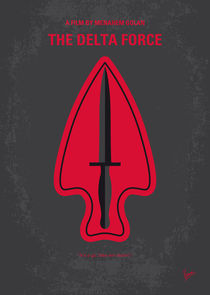No493 My The Delta Force minimal movie poster by chungkong