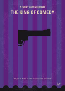 No496-my-the-king-of-comedy-minimal-movie-poster