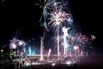Feuerwerk zu Silvester von airde
