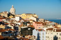 Schöne Aussicht in Lissabon von flylens