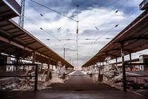 Alter Bahnhof in infrarot by airde
