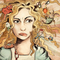 Alice's Tea Party I by Gabriela Wendt