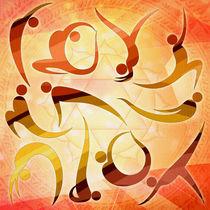 Yoga Asanas von Peter  Awax