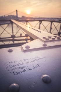 Do not be afraid. von goettlicherfotografieren