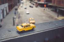 Yellow Cab in New York City von goettlicherfotografieren