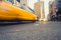 Yellow Cab in Manhattan von goettlicherfotografieren