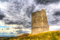 Hadleigh Castle Art by David Pyatt