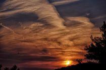 Sunset - Sonnenuntergang by Jörg Hoffmann