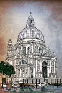 Santa Maria della Salute,Venice von andy551