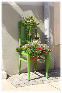 Chair With Flowers by mario-s