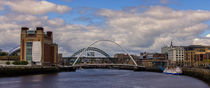 River Tyne Panorama von David Pringle