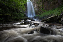 Melincourt falls Resolven south Wales by Leighton Collins