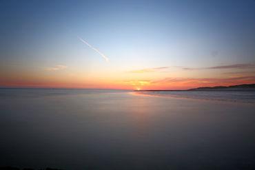 Sonnenaufgang-weststrand