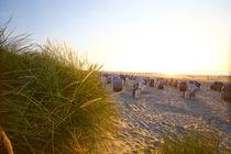 Norderney Weststrand Strandkörbe von Jens Uhlenbusch