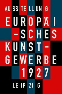 EUROPÄISCHES KUNSTGEWERBE 1927 von THE USUAL DESIGNERS