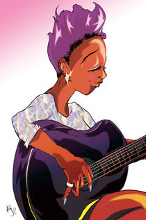 Violet Song - Guitar von Kita  Parnell