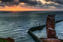Sonnenuntergang an der Langen Anna by moqui
