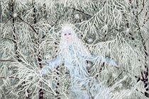 Schneekönigin im Schneewald von Heidi Schmitt-Lermann