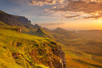 Sunrise at Quiraing, Isle of Skye, Scotland von Sara Winter