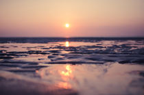 Sonnenuntergang am Strand von Sylt by goettlicherfotografieren