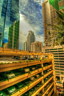 Abstract-Downtown Miami In HDR by Dean Perrus