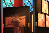 Musée du Quai Branly, Paris - Aboriginal art Collections and visitors 2 by Pascale Baud