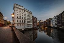 Holzbrücke, Nikolaifleet, Hamburg, Germany by Sascha Neuroth
