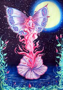 Blütenelfe by dreamtimeart