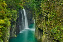 The Takachiho Gorge on the island of Kyushu, Japan von Sara Winter