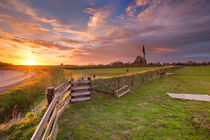 Church of Den Hoorn on Texel island in The Netherlands by Sara Winter