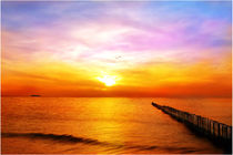 Sonnenuntergang am Meer  von darlya