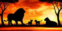 Löwenfamilie von darlya