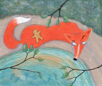 The Fox and The Little Gingerbread Man von Maxine Lee