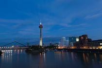 skyline Düsseldorf  von Rene Kampfer
