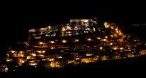 Castelsardo by night von Bruno Schmidiger