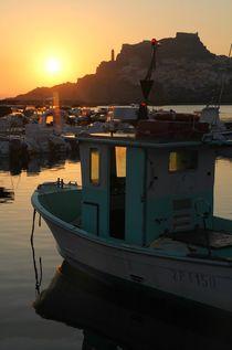 Im Hafen von Castelsardo 2 by Bruno Schmidiger