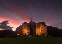Oystermouth Castle Swansea by Leighton Collins