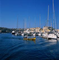 MALTA. Bootsfahrt durch die Häfen von Valletta von li-lu