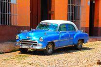 Der blaue Oldtimer by ann-foto