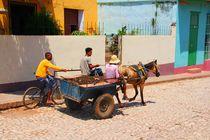 Kuba Pferdekutsche by ann-foto