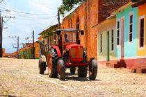 Traktor auf Kubas Straßen von ann-foto