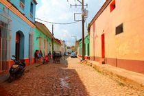Einsame Straße auf Kuba von ann-foto