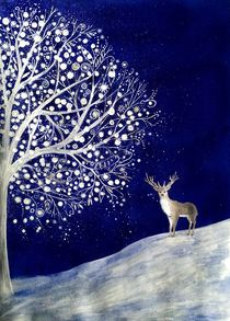 Magic Deer by Anna Fernandez